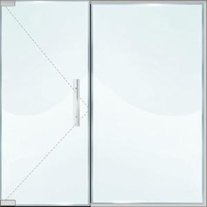 Стъклена витрина NC10