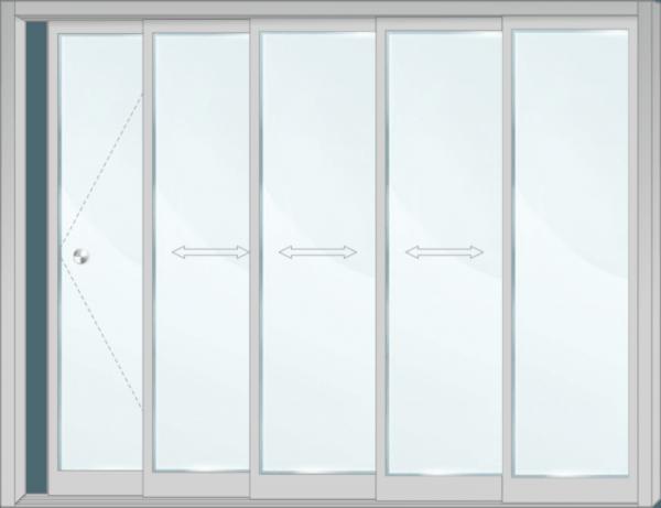 Стъклена система - SL AM5