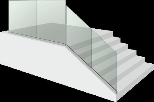 Стъклен парапет - Glass S 1