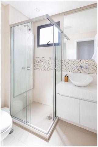 Преграда плъзгане – удобен и практичен избор банята Ви