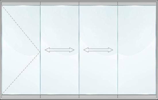 Стъклена система - SL SB4